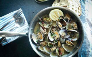 steamer clams sauteed